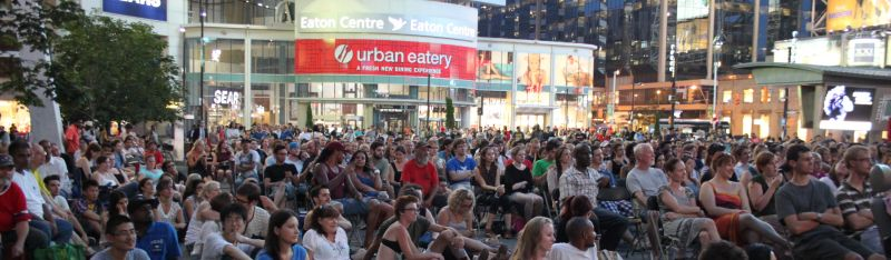City Cinema at Yonge-Dundas Square Continues with RUSH, ACROSS THE UNIVERSE, TOMMY BOY and More
