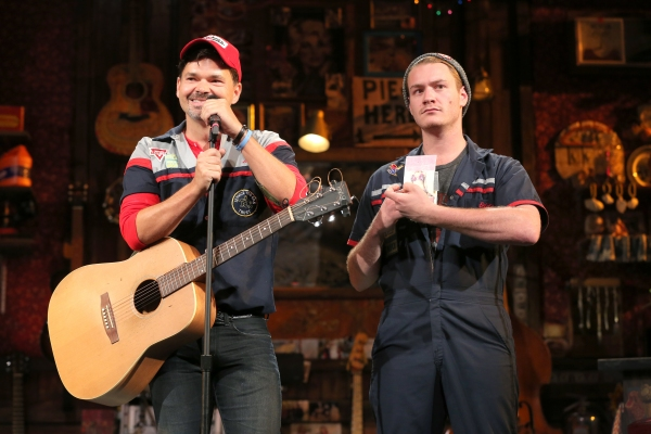 Photo Flash: First Look at Hunter Foster, Katie Thompson, Mamie Parris & More in Encores! PUMP BOYS AND DINETTES!