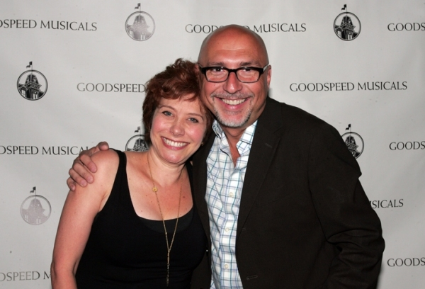 Cheryl Stern with director Rob Ruggiero