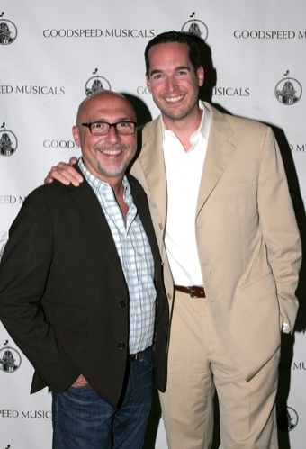 Director Rob Ruggiero with choreographer Parker Esse