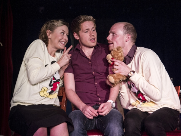 Photo Flash: First Look at I LOVE YOU YOU'RE PERFECT, NOW CHANGE on Battersea Barge