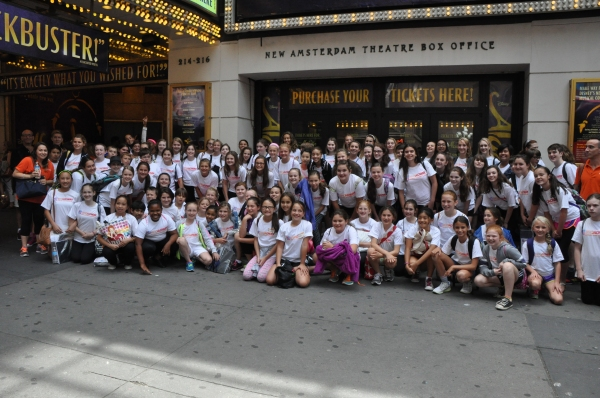 Photo Coverage: VIOLET's Emma Howard Meets with Camp Broadway Kids