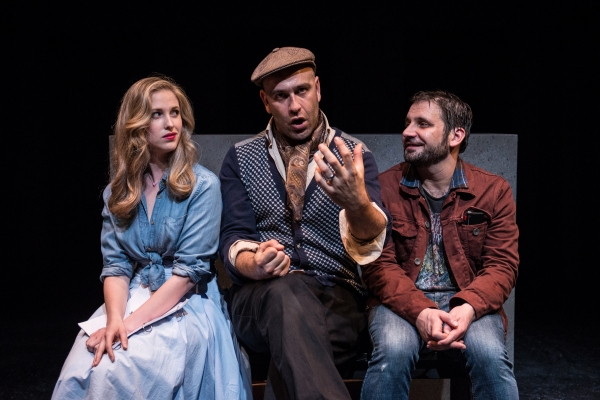 Photo Flash: New Production Shots from The Amoralists' THE QUALIFICATION OF DOUGLAS EVANS