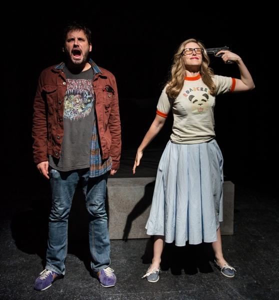 Derek Ahonen as Douglas and Samantha Strelitz as Cara