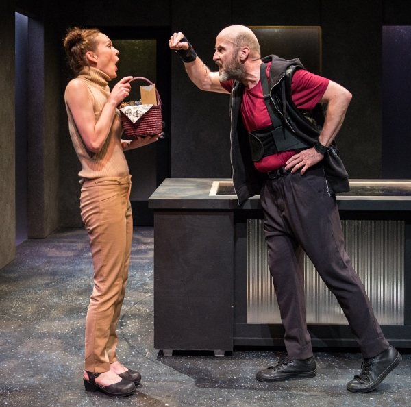 Sarah Lemp as Jessica and Mark Roberts as Jack Story Photo