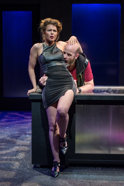 Anna Stromberg as Marla and Mark Roberts as Jack Story Photo