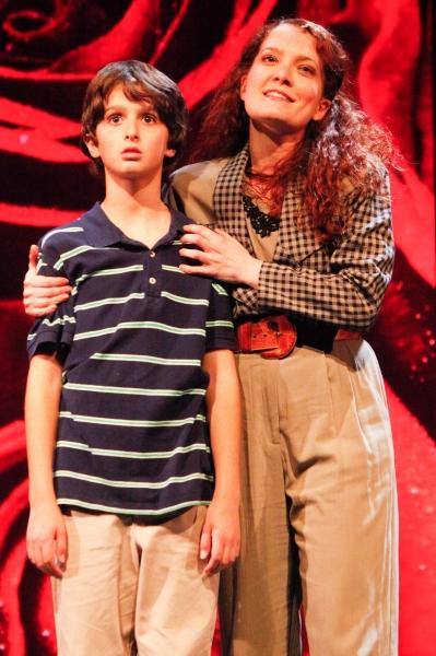 Tyler Altomari (Jason) and Leslie Henstock (Trina). Photo by Randy O''Rourke.