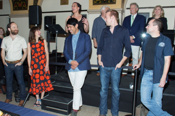 Photo Coverage: Casts Unite! Encores! PUMP BOYS AND DINETTES Company Celebrates Opening Night with Original Cast Members