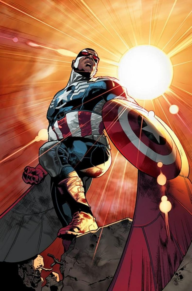 Marvel Announces FALCON as New Captain America and Brand-New IRON MAN!