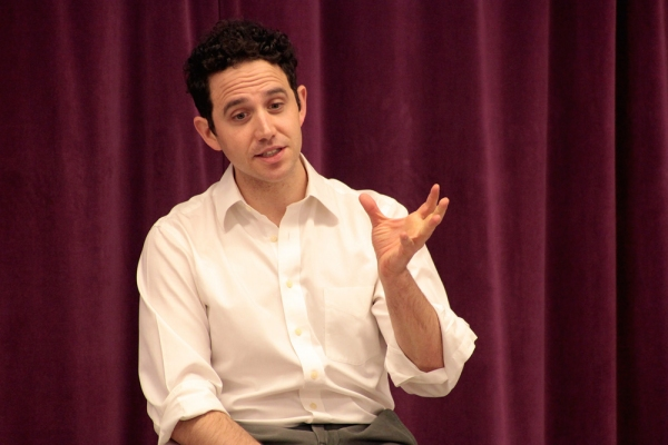 Photo Flash: Tony Nominee Santino Fontana Visits Broadway Artists Alliance