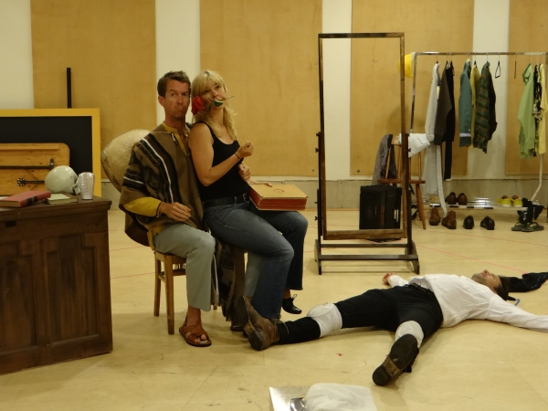 Photo Flash: In Rehearsal for Dorset Theatre Festival's ALL IN THE TIMING