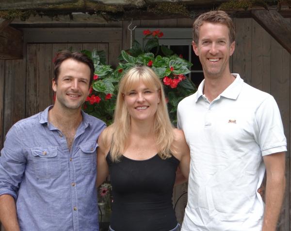 Mark Alhadeff, Kelly McAndrew, Adam Harrington