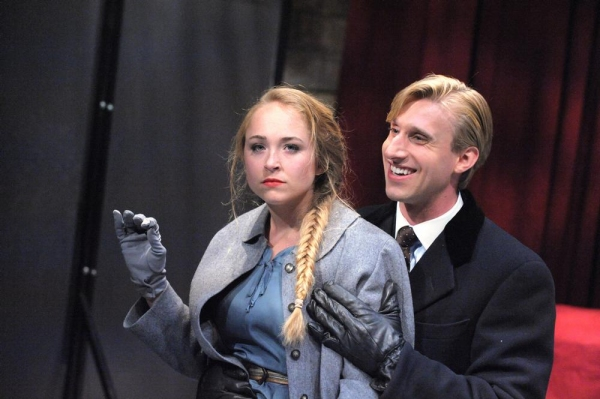 Meghan Leathers as Ragusa and Bill Army as Albert