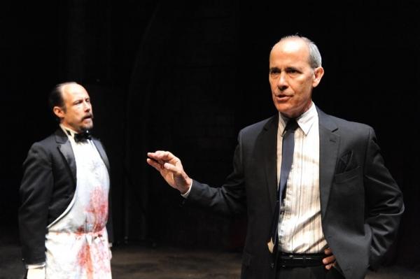 Alex Draper as Cascan and Robert Emmet Lunney as Claudius Photo