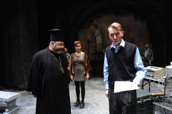 Lawrence Nathanson as Father Sergei Bojovic, Tosca Giustini as Gabriella Pecs, Jonath Photo