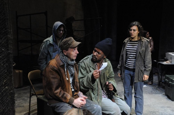 Jonathan Tindle as Oliver Davenport, Aubrey Dube as Antonio, Mari Vial-Golden as Yasm Photo