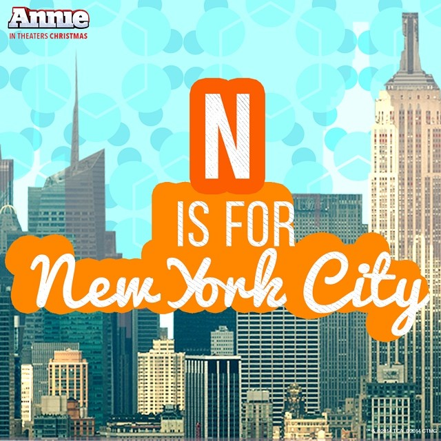 NYC-Themed ANNIE Movie Social Media Image Released