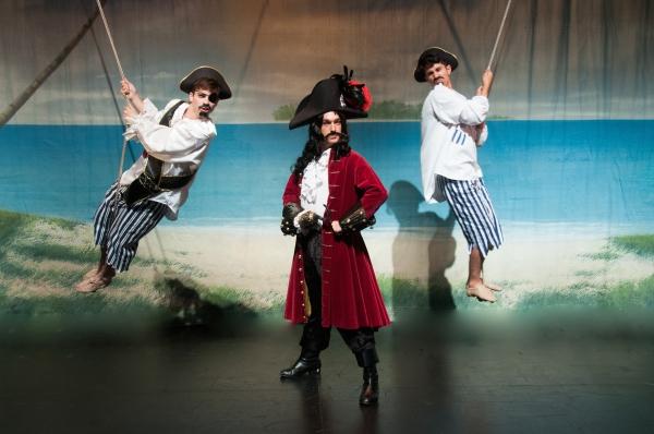 JP Dubé as Pirate, David F.M. Vaughn as Captain Hook, Marco Ramos as Pirate