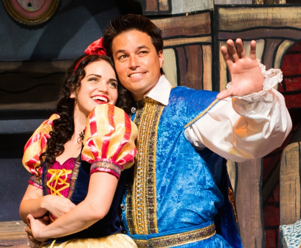 Lindsay Pearce as Snow White and Cliffton Hall as Prince Harry