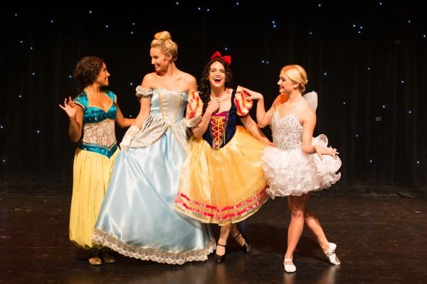 Clarice Ordaz as Yasmine, Molly McCook as Cinderella, Lindsay Pearce as Snow White, Kaitlynn Edgar as Tinkerbell