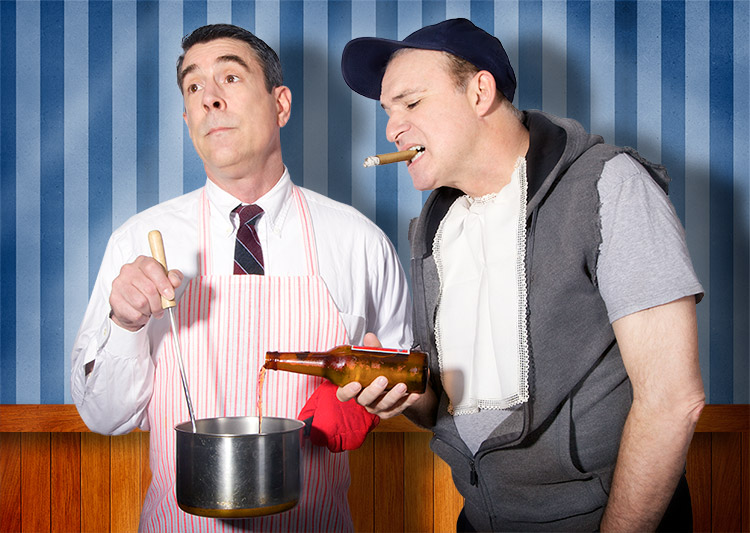 BWW Reviews: Stage Door's ODD COUPLE Brings Nuanced Laughs to Classic Comedy