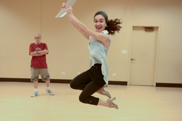 Photo Flash: In Rehearsal with NYMF's PROPAGANDA! THE MUSICAL