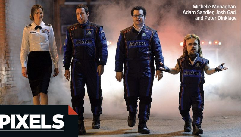 First Look - Josh Gad, Adam Sandler & Peter Dinklage Star in PIXELS