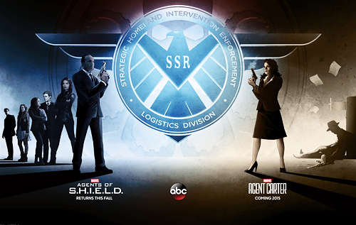 First Look - AGENTS OF S.H.I.E.L.D. Meet AGENT CARTER in New Marvel Poster Art!