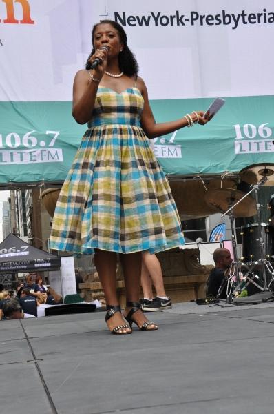 106.7 Lite FM''s Helen Little hosts todays show