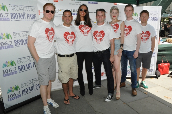 David Abeles, Jonathan Hammond, Sara Gettelfinger, Jeremy Kushnier, Grace Stockdale, James David Larson and Randy Harrison