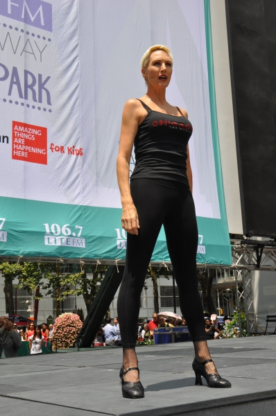 Photo Coverage: Casts of LES MISERABLES, PIPPIN & More Belt It Out at BROADWAY IN BRYANT PARK!