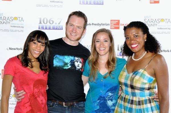 Lite FM''s 106.7''s Helen Little joins Nikki M. James, Adam Monley and Morgan James
