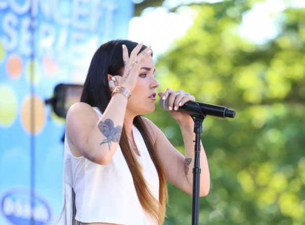 Photo Flash: Zedd & Miriam Bryant Perform on GMA's Summer Concert Series