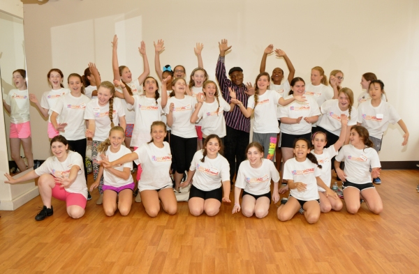 Photo Coverage: Camp Broadway Kids Meet with Ron Kunene!