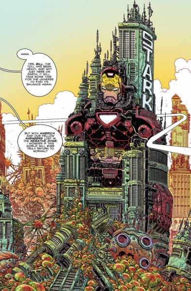 Photo Flash: First Look - Marvel Previews 100th Anniversary: AVENGERS #1