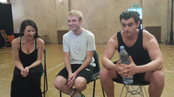 Photo Coverage: Danielle Hope, Lloyd Daniels And Matt Lapinskas Rehearse JOSEPH!