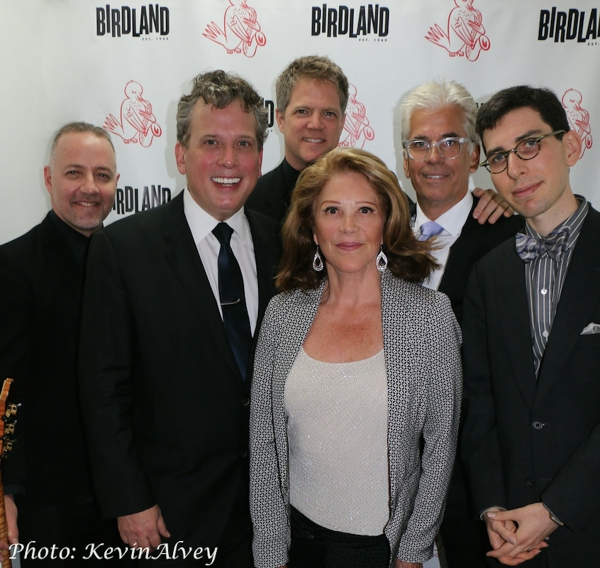 Ron Affif, Billy Stritch, Steve Doyle, Linda Lavin, Steve Bakunas, Aaron Weinstein