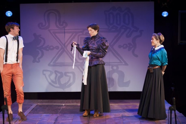 Photo Flash: First Look at THE INCREDIBLE FOX SISTERS at 2014 Ice Factory Festival