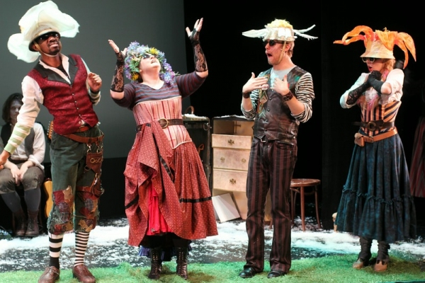Photo Flash: First Look at NYMF's THE SNOW QUEEN with Eryn Murman, Jane Pfitsch and John Michael Presney