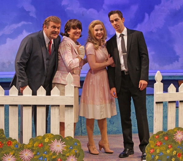 Timothy W. Robu, Karen L. Robu, Carolyn Anne Miller, and Skyler Adams Photo
