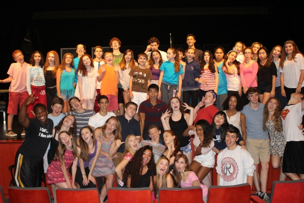 Photo Flash: Telly Leung Mentors Students at Paper Mill's Summer Conservatory