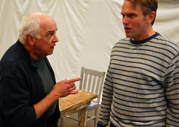 Photo Flash: Rehearsal Photos for Chester Theatre Company's A NUMBER Released!