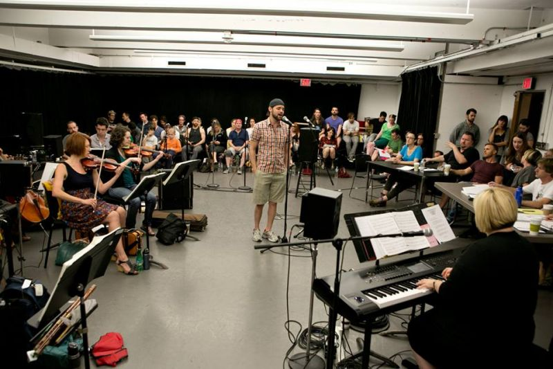 Behind The Scenes Of FINDING NEVERLAND Sitzprobe