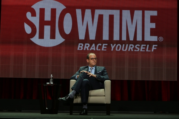 David Nevins, President, Showtime Networks, at the Showtime TCA Summer Press Tour 2014.