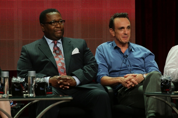 Wendell Pierce and Hank Azaria