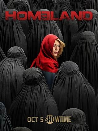 Photo Flash: Showtime Unveils Season Four Art for HOMELAND