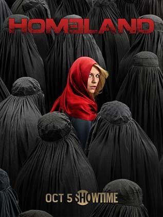 Photo Flash: Showtime Unveils Season Four Art for HOMELAND