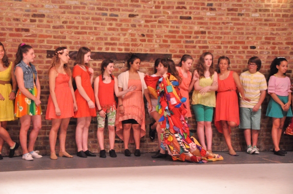 Katie Powers and The Camp Broadway Kids