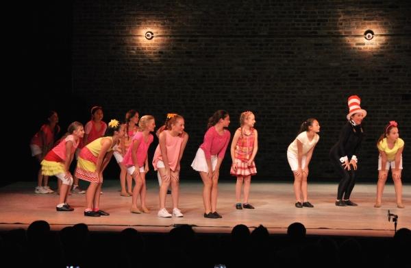Alexandra Schwartz and The Camp Broadway Kids Photo