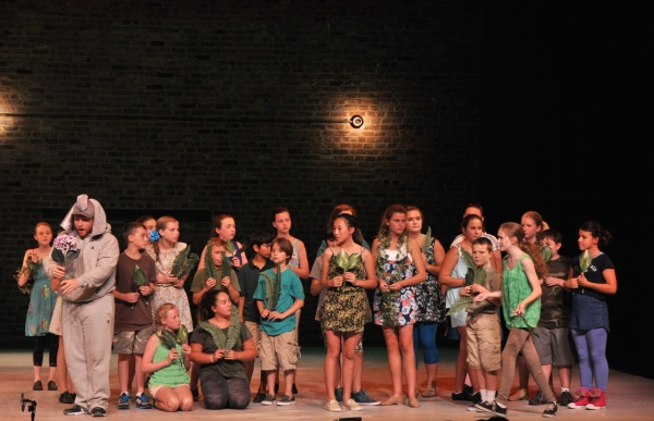 Stephen Orr and The Camp Broadway Kids